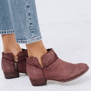 Seychelles Towel Suede Snare Ankle Booties